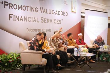 Bmt itQan Hadiri Acara Promoting Value-Added Financial Services di Jakarta